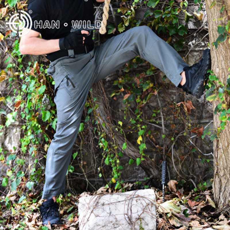 Loose Pants Tactical Military Desert Pant Battlefield Hunter Hunting Trousers Army Training Pants SWAT Overalls Woodland