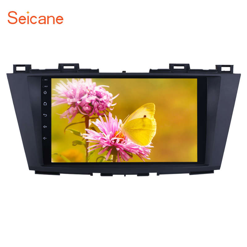 Seicane 2Din 9 HD 4core Android 8 1 GPS Car Multimedia Player Radio Stereo For 2009