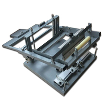 cheap glass bottle screen printing machine for single color