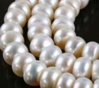 8 10MM White Saltwater Akoya Pearl Shell Pearls Loose Beads Jasper Jewelry Semi Finished Necklace Natural