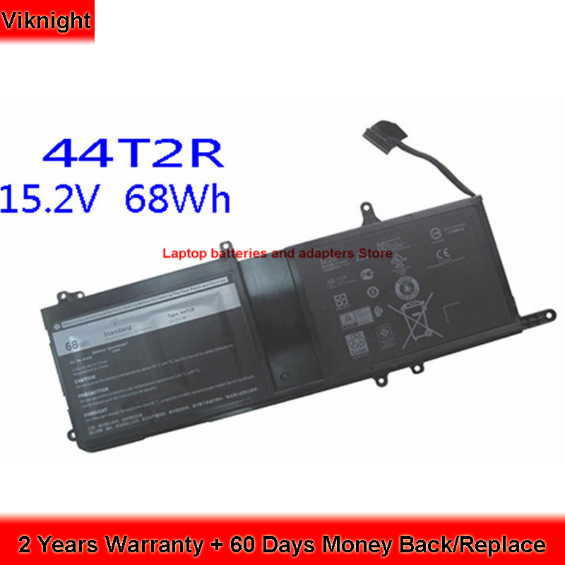 Original 546FF laptop battery for Dell ALIENWARE 17R4 0546FF 44T2R 68Wh 15.2V hot sale replacement laptop battery for dell alienware 15 r3 alienware 17 r4 0546ff 0hf250 44t2r 9njm1 hf250 mg2yh