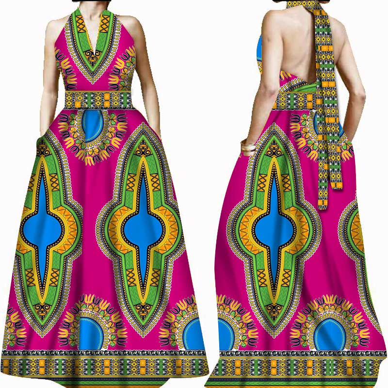 aliexpress : buy african dresses for women sling backless sexy
