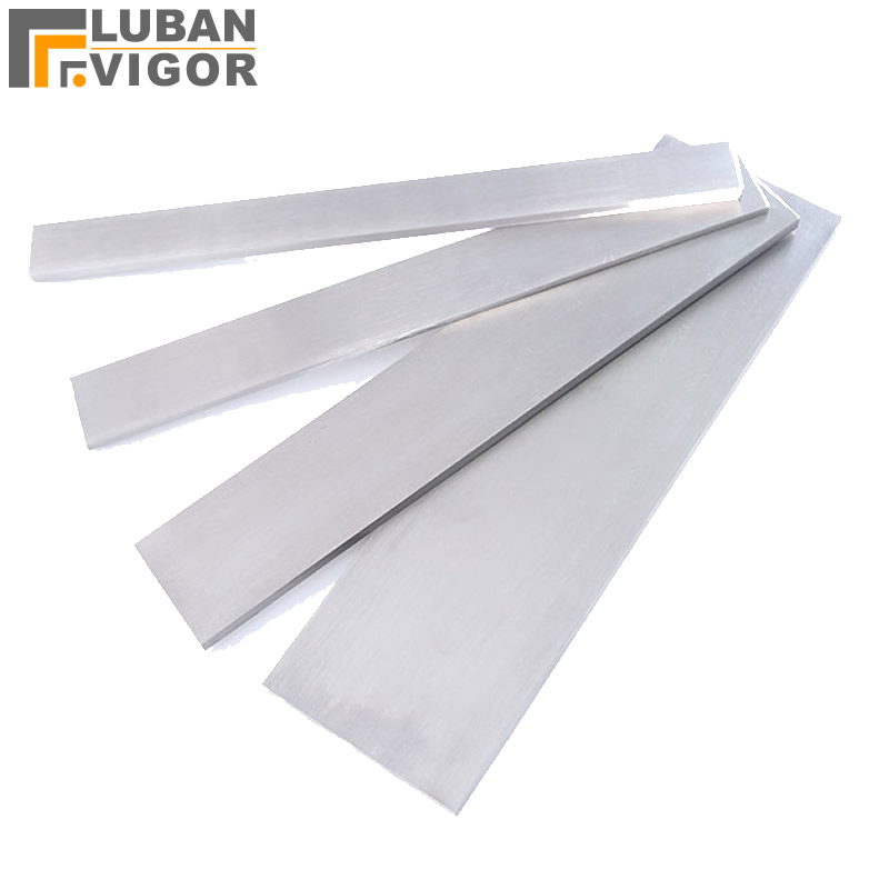Customized,wholesale 304 Stainless Steel Strip/Cold Drawn Flat Steel, Cutting Retail, Length 100mm , Width 40mm Thickness 2mm