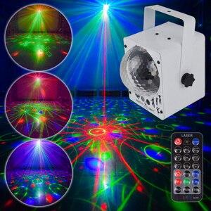 Image 2 - YSH ดิสโก้แสงเลเซอร์ RGB โปรเจคเตอร์ PARTY DJ Lighting Effect สำหรับขาย LED สำหรับตกแต่งบ้าน
