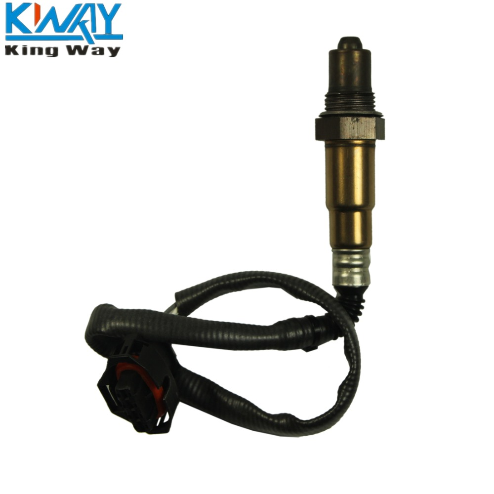 Free shipping king way 1 pcs o2 oxygen sensor for 2003 2004 cadillac cts 3 2l 2344821 12571768 16379