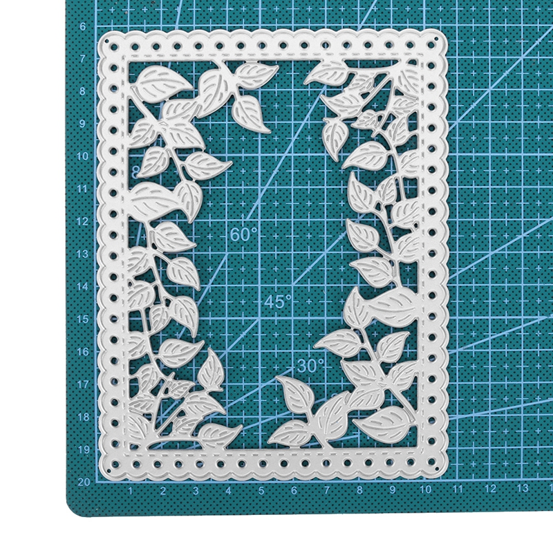 Cover-up Leaf Frame  Metal Cutting Die Stencil 2019 For DIY Scrapbooking Decorative Embossing Handcraft Template