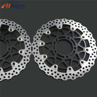 Latest Style Motorcycle Front Brake Disc Roto For KAWASAKI ZX10R 1000CC Model Year 2008 2009 2010