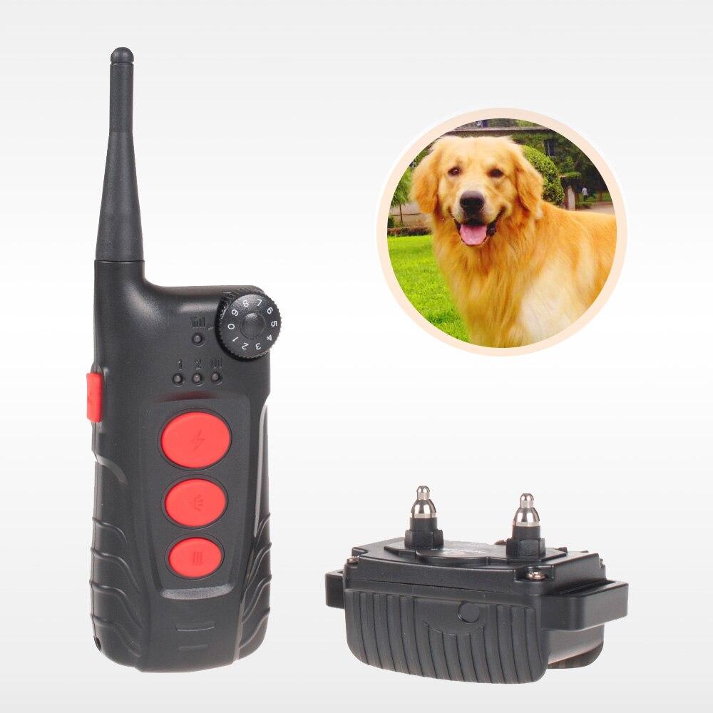 Envío Gratis Aetertek sumergible Collar de entrenamiento para perros 918C Collar de choque para entrenamiento de perros Collar de perro recargable con control remoto de 600 yardas-in Collares de adiestramiento from Hogar y Mascotas    1