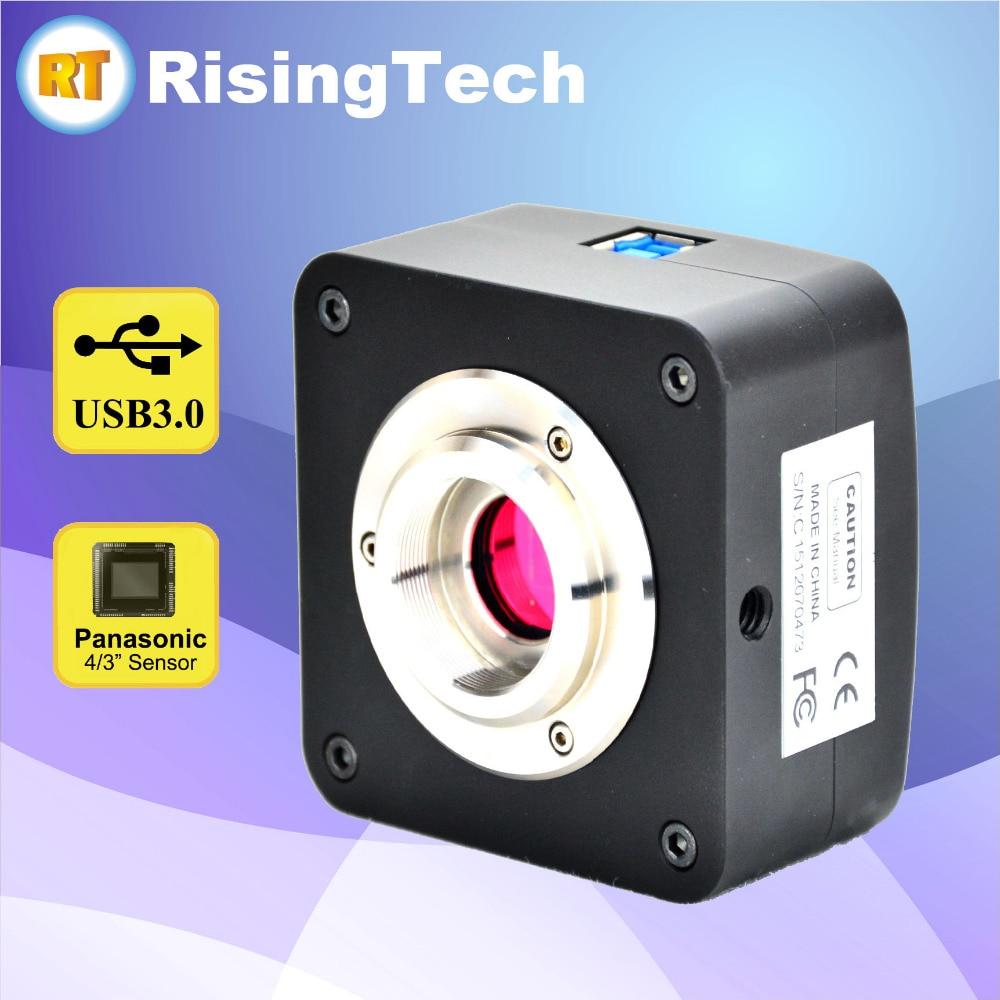 High Sensitivity 16MP USB3.0 Microscope Camera With 4/3 ...