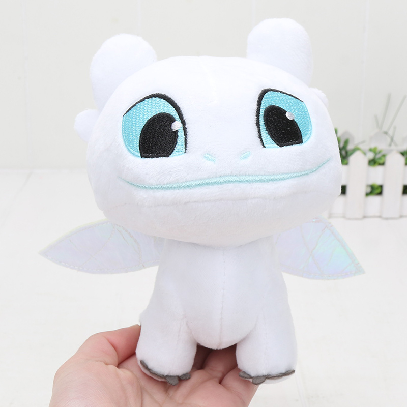 9b213e7ad3a Aliexpress.com   Buy 15cm White Toothless How to Train Your Dragon 3 Plush  Toy Night Fury Soft White Dragon Stuffed Animal Doll Toys from Reliable  Movies ...