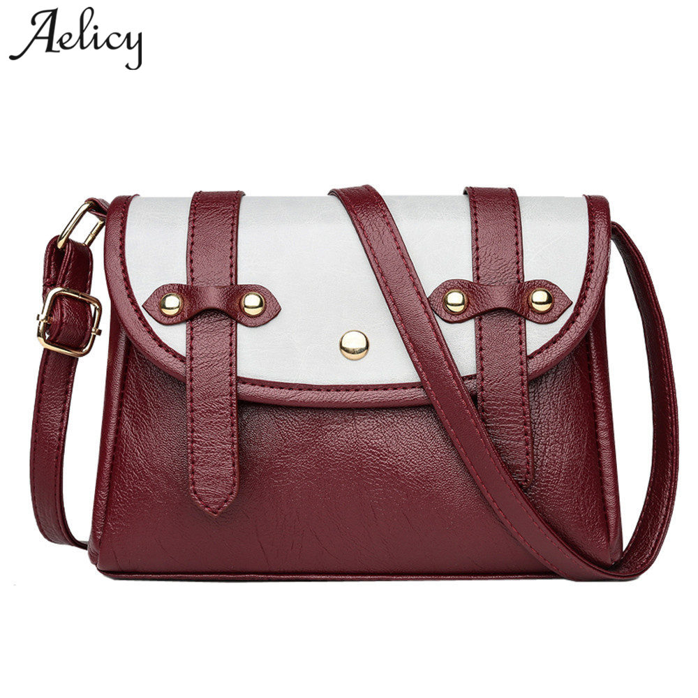Aelicy New vintage messenger bag women handbag cross body PU leather handbag cross body bag casual shoulder bags bolsa feminina босоножки dali босоножки