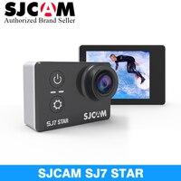 SJCAM SJ7 Star Wi Fi 4 К 30 P 2' Сенсорный экран удаленного Действие шлем спорта Камера Водонепроницаемый Ambarella A12 чип видеокамера SJCAM SJ7