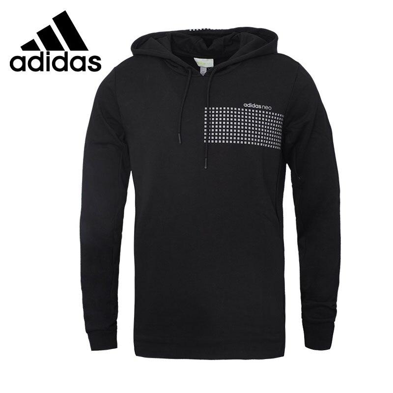 Original New Arrival Adidas NEO Label Men s Pullover Hoodies Sportswear