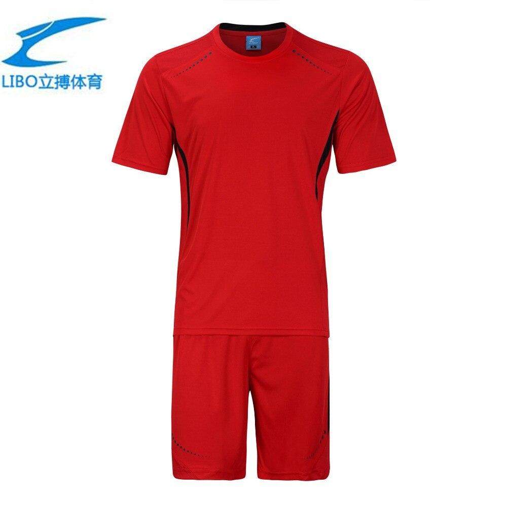 New men plate football clothes Training Games mens soccer jerseys adult blank soccer kits sets