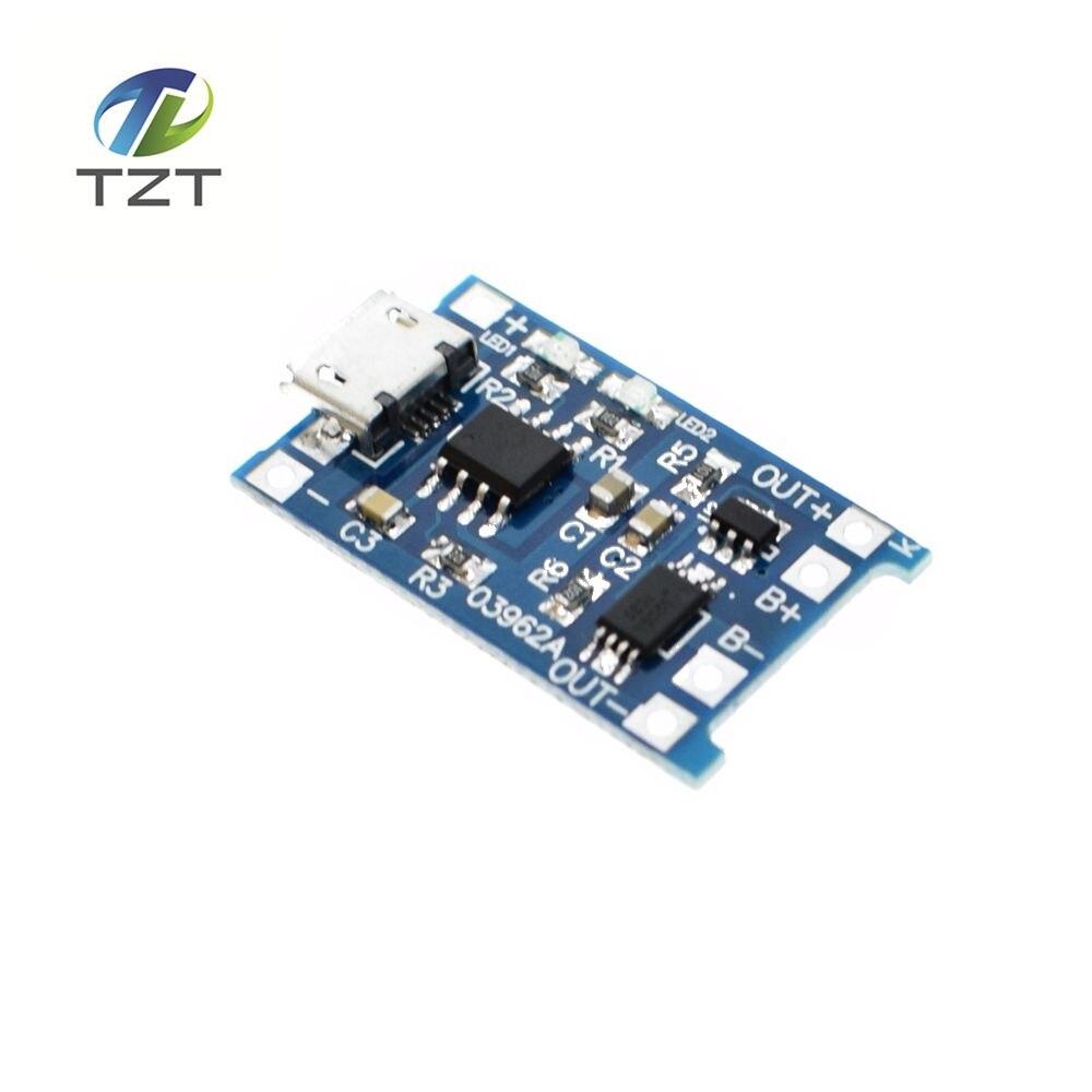 New 1Pcs lot 5V 1A Micro font b USB b font 18650 Lithium Battery Charging Board