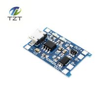 New 1Pcs/lot 5V 1A Micro USB 18650 Lithium Battery Charging Board Charger Module+Protection Dual Functions