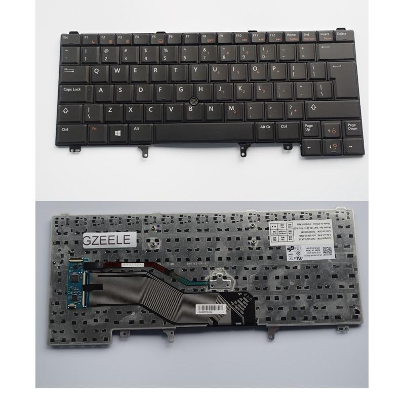 Keyboard FOR DELL E6420 E5420 E5430 E6220 E6320 E6330 E6430 UI without Backlight With Mouse Pointer laptop keyboard