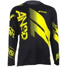 Wholesale MOTO New Mens MX VTT Motorcycle Jerseys Moto XC GP Mountain Bike Motocross Jersey BMX DH MTB T Shirt Cloth