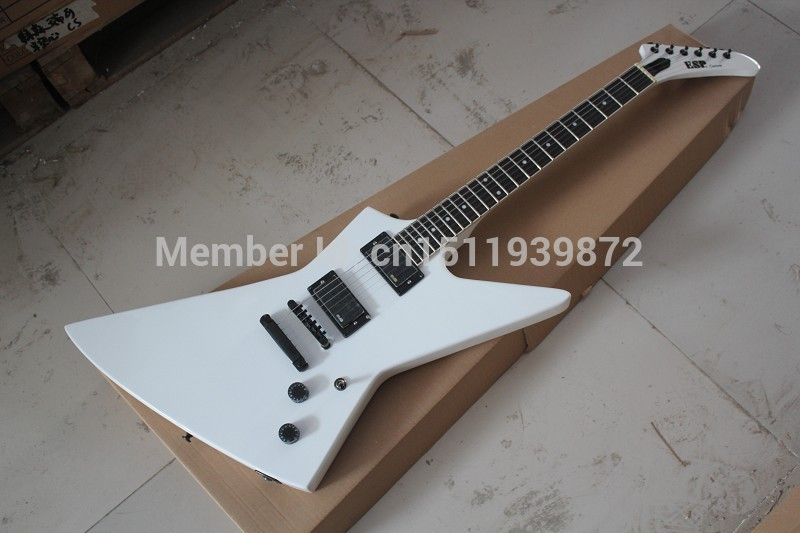 Free Shipping New Arrival ESP Custom Explorer White Electric Guitar EMG Pickup MX-250 II In Stock free shipping new arrival on sale f stratocaster sky blue custom body maple fingerboard electric guitar in stock 16