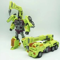 Transformation NBK KO GT Devastator Figure Toy Engineering Truck Combiner Toys Birthday Gifts For Kids