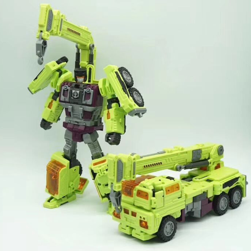 Transformation NBK KO GT Devastator figure toy engineering truck combiner Toys Birthday Gifts For Kids 3 in 1 super transformation thomas and friends figure toys with package children puzzle figures for birthday gift kids toy set