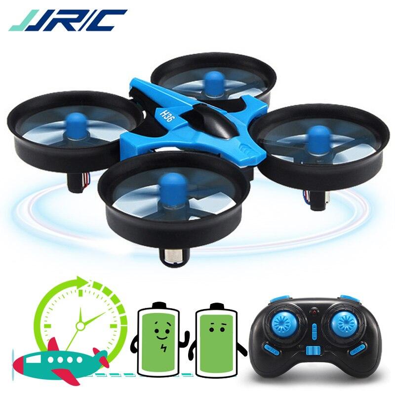 JJRC H36 Mini Drone Quadcopter 3D di Vibrazione Modalità di Una Chiave di Ritorno Senza Testa RC Elicottero Drone VS JJRC H8 Mini Dron best Giocattoli Per I Bambini