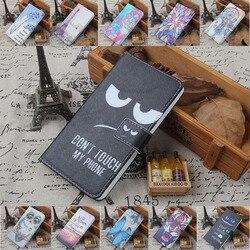 Pour HTC 10 Désir 10 lifestyle 10 pro 530 628 630 825 830 Un A9s S9 Téléphone étui Peinture en Cuir PU Avec Porte-Cartes