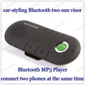 Bluetooth mini car-styling car with LED car detector with a Bluetooth hands-free with two sun visor Bluetooth hands-free