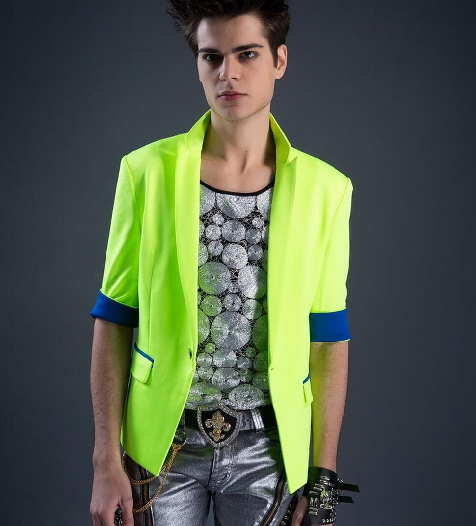 Mens lime green sport coat