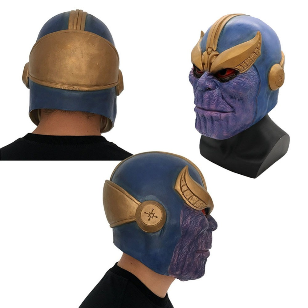 Thanos Mask Infinity Gauntlet Avengers Infinity War Gloves Helmet Cosplay Thanos Masks Halloween Props Christmas Gift High Standard In Quality And Hygiene Back To Search Resultstoys & Hobbies