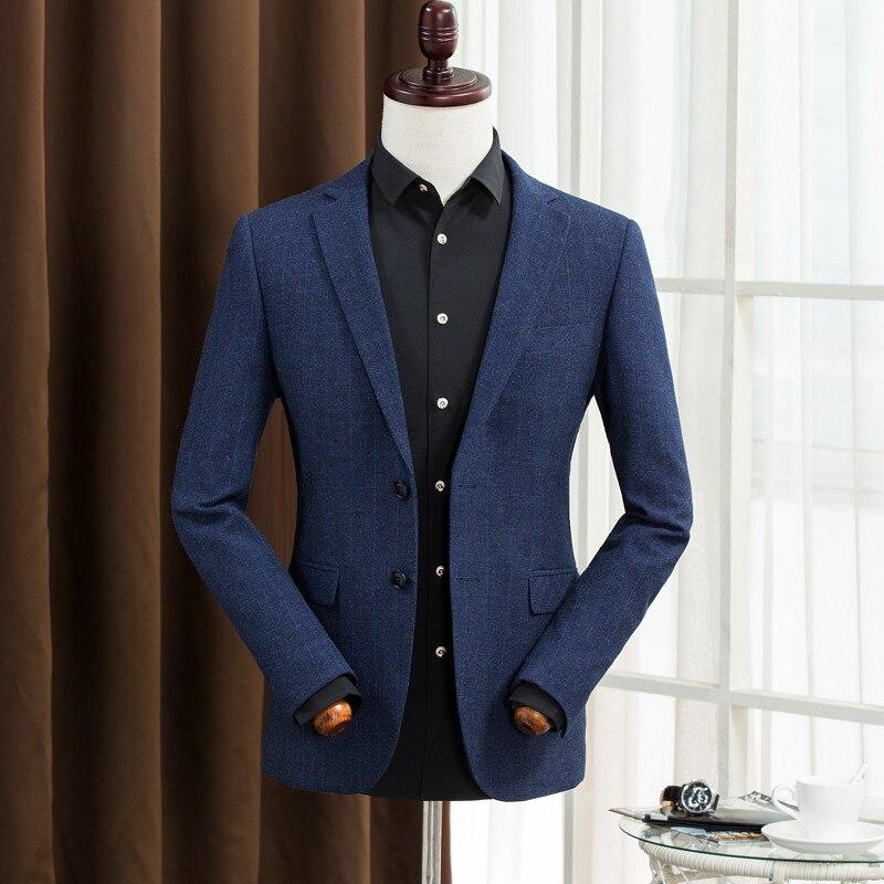 Costumes d'affaires Pour Hommes Messieurs Robe Casual Costumes De Mode Tournent Vers Le Bas Slim Hommes Blazer Mâle de Haute Qualité A5112