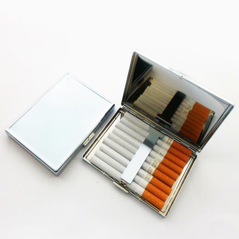 Schönheit & Gesundheit Haut Pflege Werkzeuge 12 Stücke Blank 9 Zigaretten Box Fall Edelstahl Tabak Rohr Lagerung Tasche Box Halter Handlichen Diy-free Verschiffen Herausragende Eigenschaften