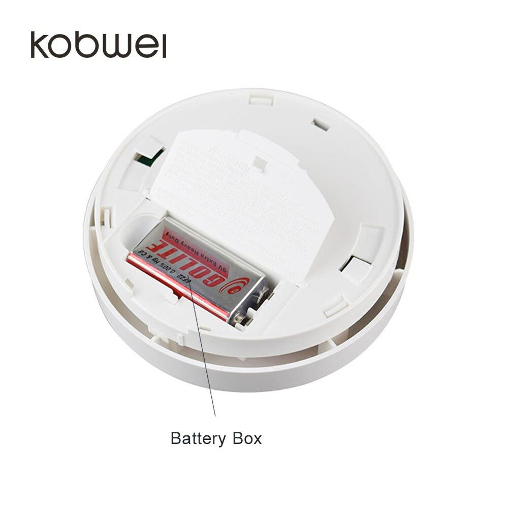 Fijo 2 en 1 sensor de temperatura sensor de Calor y humo standalone ...