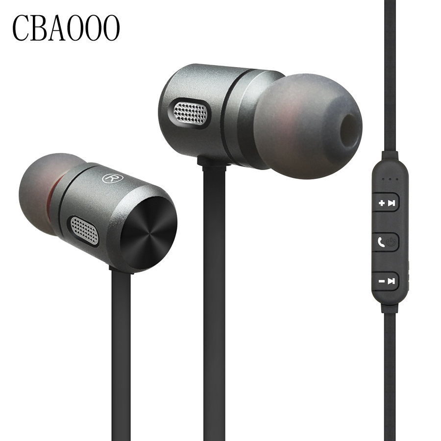 Sport Bluetooth Earphone Wireless Waterproof hifi Super bass Stereo Headset Magnetic Earphone with Mic for phone xiaomi iphone