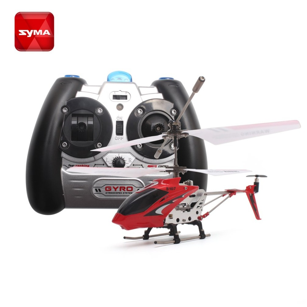 Original Syma S107G Gyro Metal Infrared Radio 3.5CH Mini Helicopter RC Remote Control Flying Drone for Toys Gift Present RTF hi syma 107e remote control mini drone 3ch rc mini helicopter gyro crash resistant baby gift toys smallest helicopter kid air plane