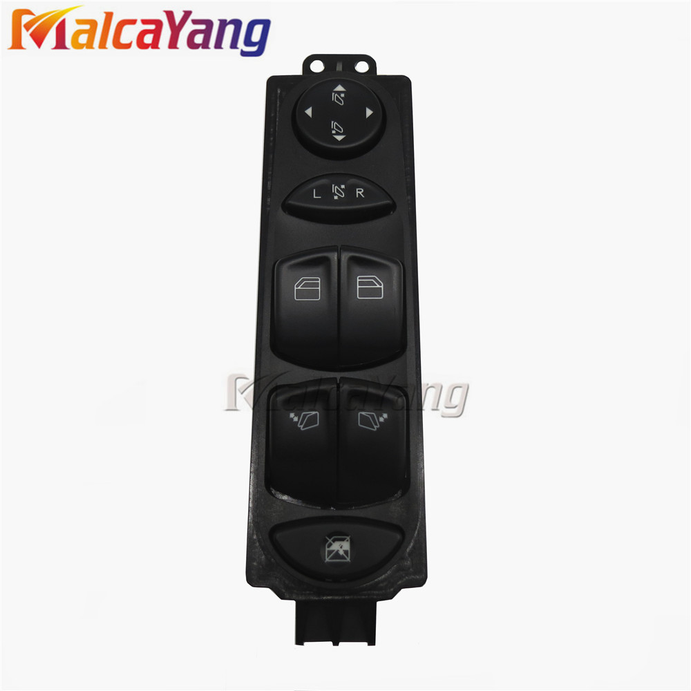 Front Power Master Window Switch for Mercedes W639 Vito 03-15 стеклоподъемник vito 639 беларусь