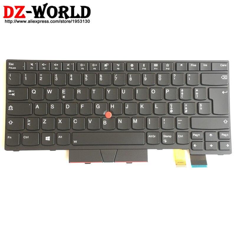 New/Orig IT Italy Ttalian Backlit Keyboard for Thinkpad T470 A475 T480 A485 Backlight Teclado 01AX586 01AX545 01AX504 SN20L72907New/Orig IT Italy Ttalian Backlit Keyboard for Thinkpad T470 A475 T480 A485 Backlight Teclado 01AX586 01AX545 01AX504 SN20L72907