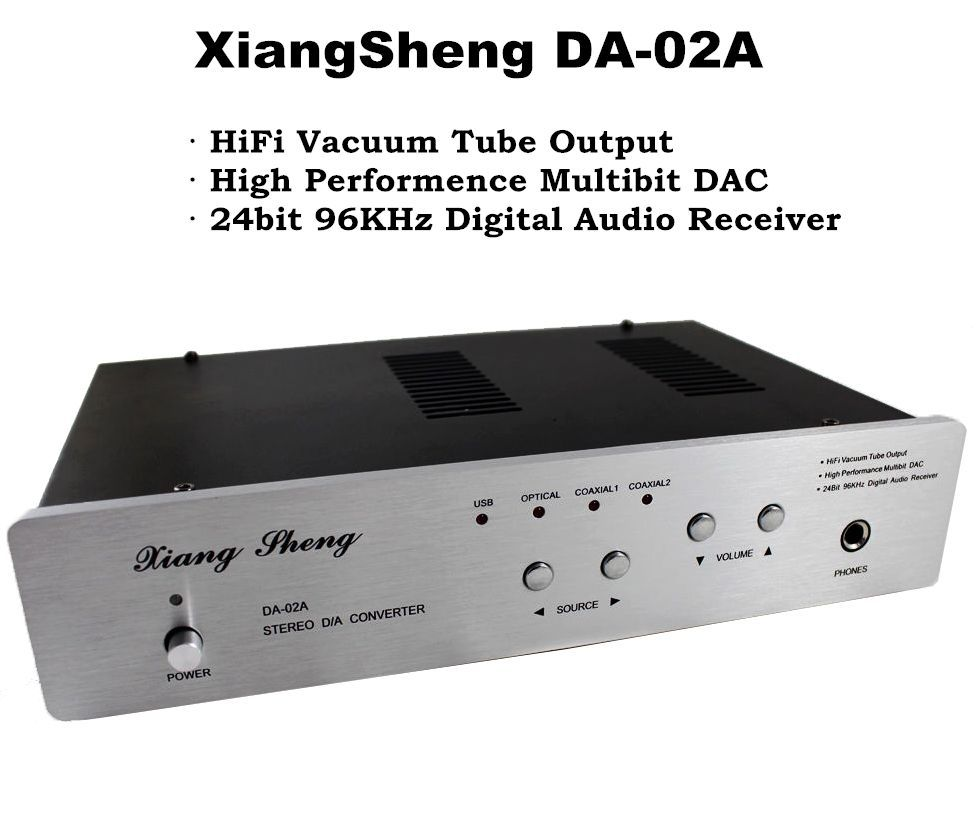 Music hall Nobsound XiangSheng DAC-02A USB DAC Audio Decode Stereo D/A Converter Amplifier