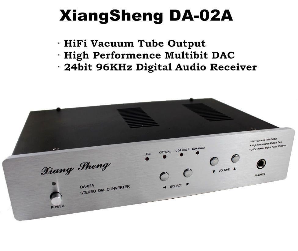 Music hall Nobsound XiangSheng DAC 02A USB DAC Audio Decode Stereo D A Converter Amplifier