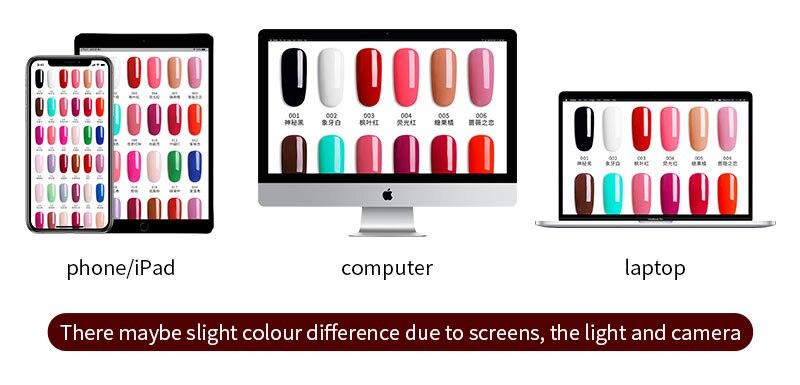 2 屏幕色差