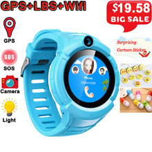 Q360 Kids Smart Watch Camera GPS WiFi Location Smartwatch Children SOS Anti-Lost Monitor Tracker Baby Wristband Watch Kids Gifts(China)