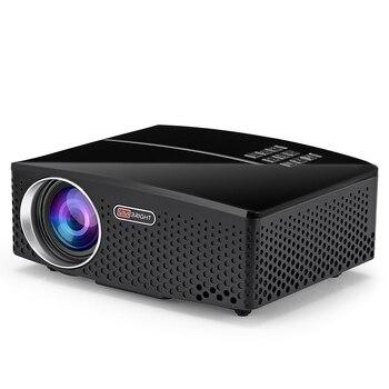 VIVIBRIGHT GP80 LED 1800 lúmenes HD proyector portátil para cine en casa Supprot 1080P USB HDMI proyector de cine en casa