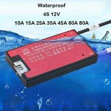 4S 12 v bateria de lítio placa de proteção lifepo4 ferro li ion li carregador equilíbrio polímero lipo 10a 15a 30a 40a 60a 80a célula bms
