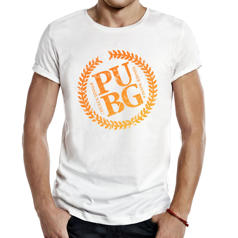 Cool Playerunknown S Battlegrounds T Shirt Large Size: Pubg Epic Royale Gaming T Shirts Tees Men Casual Apparel