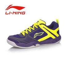 Li-Ning 2017 Men's Wear-Resisting Badminton Training Shoes Li Ning Shoes Anti-Slippery Damping Lace-Up Outdoor Sneakers AYTM017