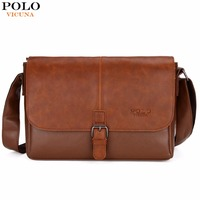 VICUNA POLO Famous Brand Men S Shoulder Bag Magnetic Open Casual Trendy Men Crossbody Bag England