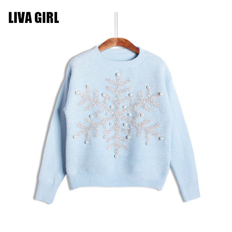 Sweaters women pull femme hiver pullovers and sweaters christmas women knitted sweater for womens jumpers 2017 Winter B103