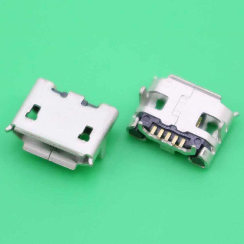 YuXi Mini microUSB jakı soketli konnektör, 5 pin Küçük Öküz boynuz