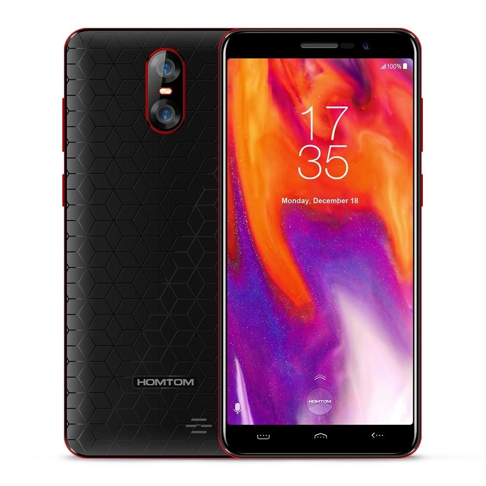 HOMTOM S12 3g Smartphone 5,0 zoll Android 6.0 MTK6580 Quad Core 1 gb RAM 8 gb ROM 8MP + 2MP dual Hinten Kameras Zelle Handy