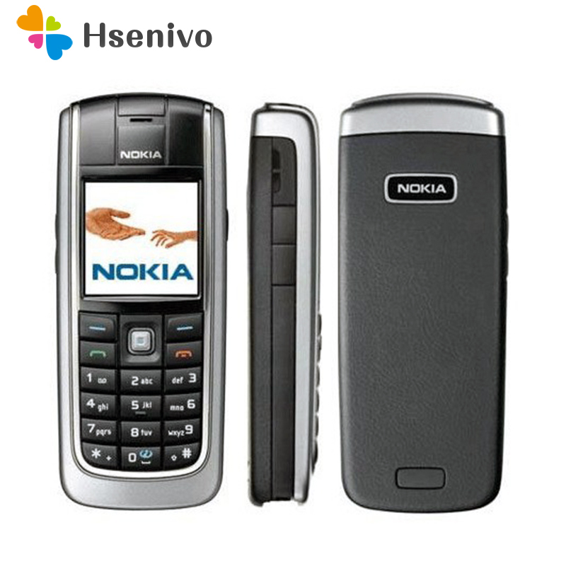 6020 Original Unlocked Nokia 6020 Mobile Phone Camera GSM 900 1800 Dualband Classic Cheap Cellphone Refurbished